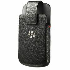 Blackberry Classic Cuero FUNDA Funda Giratoria-Negro