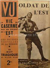 Magazine VU n°297- 1933 -Soldat de l'Est - Willow Wilde - Thomas Hunt - L'Or