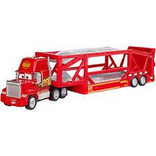Disney Pixar Cars 3 Launching Mack Hauler 17 Inch Long Car Transporter Toy Truck