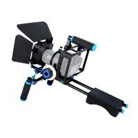 DSLR Rig Camera Cage Kit Shoulder Stabilizer System Video Support Rig For Canon