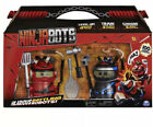 Ninja Bots 2-Pack (Red/Black) Hilarious Battling Robots 100+ Sounds & Movements