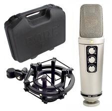Rode NT2000 Grossmembran Kondensatormikrofon SM2 Spinne