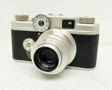 Argus C-4 Rangefinder 35mm Film Camera w Cintar f/2.8 50mm Lens Parts & Repair