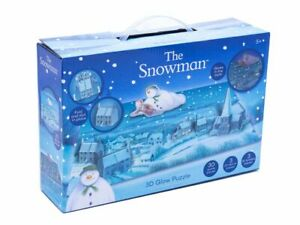 The Snowman 3D Glow in the Dark Children's 30 Piece Christmas Jigsaw Puzzle