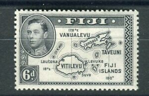 Fiji KGVI 1938-55 6d violet-black (die ii) SG261a MH