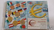 2012 SAN MARINO 8 monete 3,88 EURO saint Marin 8 pièces Сан - Марино