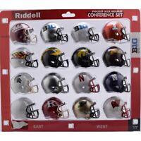 NCAA BIG 10 Pocket Pro Speed Revolution Mini Helmets Set by Riddell