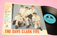 DAVE CLARK FIVE LP DEBUT 1° DISCO ORIG ITALY 1964 EX LAMIANTED COVER !!!!!!!!!!!