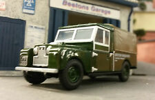 1:76 OO Scale Model Land Rover Series 1 109 LWB Utility Pickup Green Oxford
