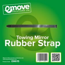 1x Replacement Towing Mirror Rubber Straps- Length 390mm, Width 20mm. EM615