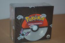 POKEMON TEAM ROCKET BOOSTER BOX Display 1. Edition OVP FACTORY SEALED tedesco