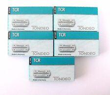 TONDEO 5  x 10 Klingen TCR für Rasiermesser aus der M-Line