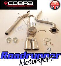 "Cobra Fiesta 1.4 MK7 Exhaust System 2"" Cat Back (08-14) FLEX TYPE FD60-YTP18 Tip"