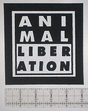 Animal Liberation Front Patch Aus-Rotten Vegan Vegetarian Anarcho ALF Punk Crust