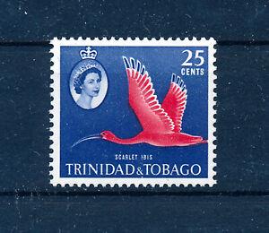 TRINIDAD & TOBAGO 1960 DEFINITIVES SG292 SCARLET IBIS  MNH