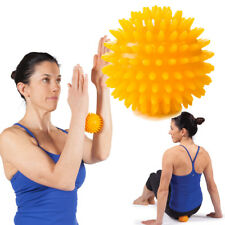 OPTP Massage Ball 8cm Yellow Self Massager for feet, forearm, legs