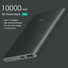 Xiaomi Power Bank Pro 10000mAh External Charger Fast Portable USB-C Battery Pack