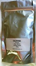 TAURINE Powder 500g  100% PURE TAURINE Free UK POSTAGE