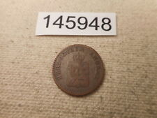 1851 A Germany German States 1 Silber Grossen Scheide Munze - Nice - # 145948