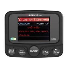 Albrecht DR 56+ Digitalradio Adapter mit DAB/DAB+, Bluetooth Musikwiedergabe/Fre