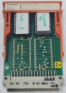 SIEMENS SIMATIC S5 6ES5911-0AA42 EPROM MEMORY MODULE SP18043