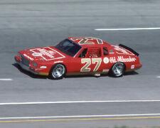 1984 Old Milwaukee Pontiac TIM RICHMOND Glossy 8x10 Photo Atlanta Speedway Print