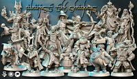 PACK THE LORD OF THE RINGS 19 Miniatures FAN MADE NEW!!! D&D ROL