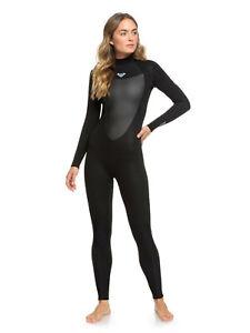Roxy Prologue 3/2mm Back Zip Wetsuit - Women's - 14 / Black (KVJ0)