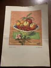 Andrea Doria Menu 1956 ( 4th Crossing Before The Trajedy) Voyage # 95⚓�