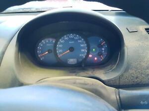 MITSUBISHI TRITON INSTRUMENT CLUSTER, PETROL, 3.5, MANUAL, 4WD, 07/06-08/09