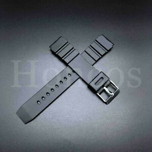 18 20 22 MM Black Silicone Rubber Watch Band Strap Fits Seiko Diver 2021 Release
