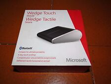 Microsoft Wedge Mouse Touch Bluetooth 4 way touch scrolling