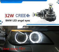LED Angel Eyes BLANC H8 32W POUR BMW E82,E87,E90,E92,E93,X1, X5(E70) X6(E71)