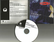 LOCAL H All the Kids are right Rare PROMO Radio DJ CD Single 1998 USA MINT