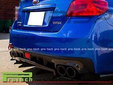 Fit For 2015-2016 Subaru WRX STI VR Type Carbon Fiber Rear Bottom Diffuser