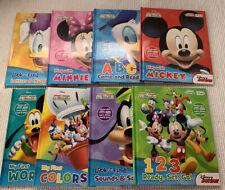 Disney Junior My First Smart Pad Book Lot