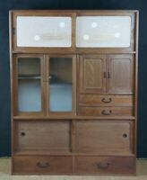 Chadansu Japan furniture 1960s tea cabinet Tansu craft.