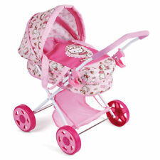 Hauck Toys for Kids Puppenwagen Diana - Puppenkinderagen Hello Kitty - Rosa
