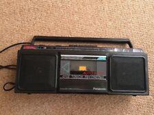 Vintage Panasonic De Radio Y Reproductor De Cassette Ghetto Blaster/Boombox