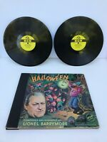 1940'S HALLOWE'EN HALLOWEEN RECORD SET LIONEL BARRYMORE MGM (missing 1 Record)