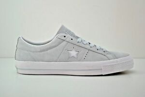 Converse One Star Ox Suede Shoes Mens 5.5 Womens 7 Poplar Blue White 153963C