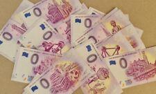 Lot 20 Billets Euros Schein Souvenir Touristique Belgique