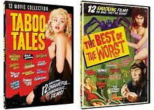 BEST OF THE WORST TABOO HORROR FILMS COLLECTION NEW 6 DVD INCLUDES 24 MOVIES