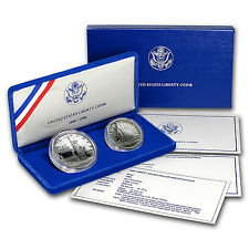 1986 2-Coin Statue of Liberty Proof Set (w/Box & COA) - SKU #7122