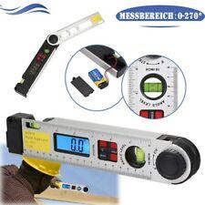 DHL Digital Winkelmesser Wasserwaage 0-225° 400mm Mit LCD Display Neigungsmesser