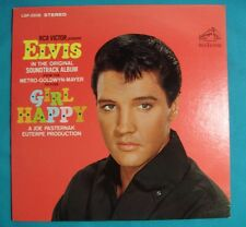 Original 1965 Elvis Presley Girl Happy LSP-3338 Soundtrack Recording