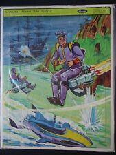 Vintage Stingray Frame-Tray Puzzle #4529  Whitman  1965