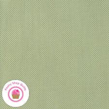 Moda AT HOME 55205 15 Green Pindots Polka dots BONNIE & CAMILLE Quilt Fabric