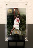 """1999-00 Upper Deck Century Legends Michael Jordan """"Epic Milestones Insert #EM1."""