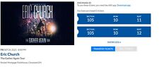 Eric Church Concert Tickets- The Gather Again Tour in Cleveland, Ohio